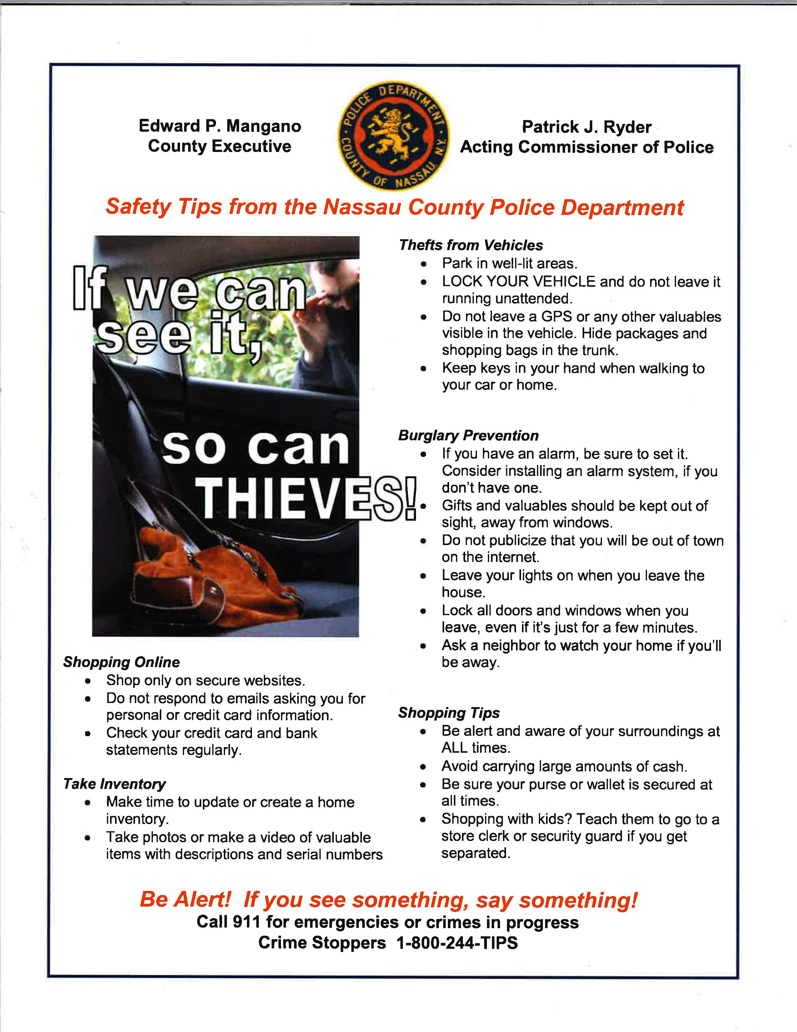 Village Of Valley Stream Crime Guard Car Alarm Wiring Diagram If You Come Across A Pothole Please Help Us By Calling It In To 516 369 1947 Can Also Minimize Damage Your Own Vehicles Exercising Extreme